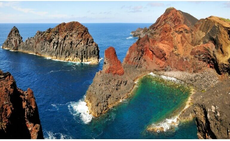 This Island is amazing due to its vulcanic soil