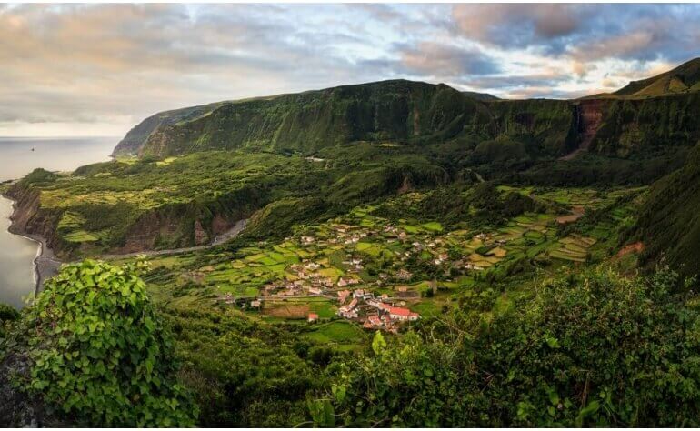 The Flores Island is nature at its best