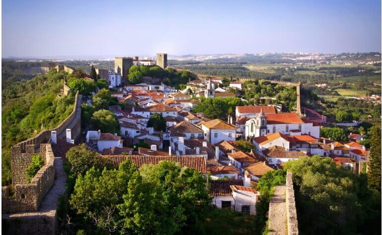 Óbidos é uma pequena vila encantadora dentro do distrito de Leiria