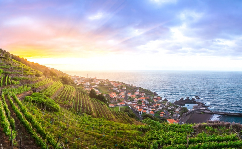 Madeira's wines are strong and deal to match with a prosciutto-wrapped melon or mature cheese