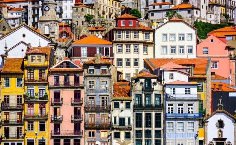 Ribeira, one of the masterpieces of Porto