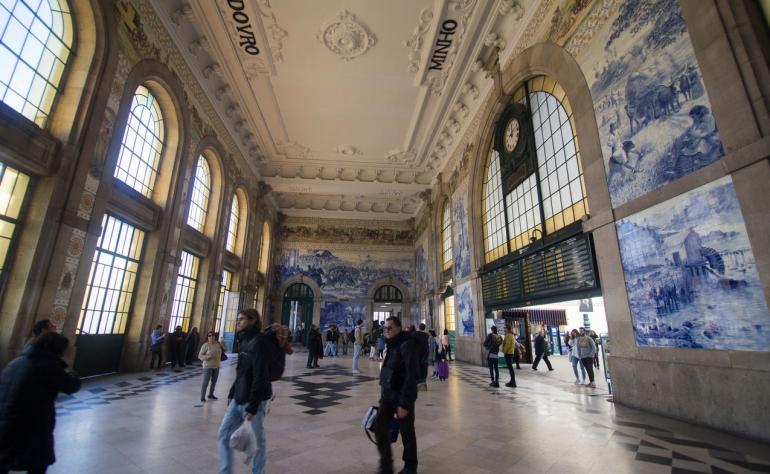 The beautiful São Bento Station