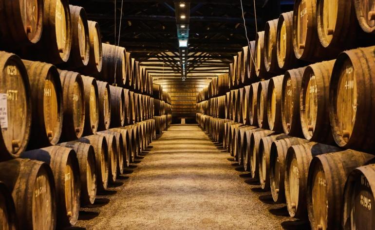 The amazing in Port Wine Cellars