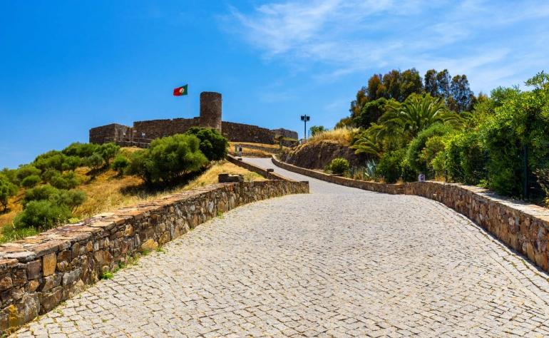 Ruins of the Arabian Aljezur Castle