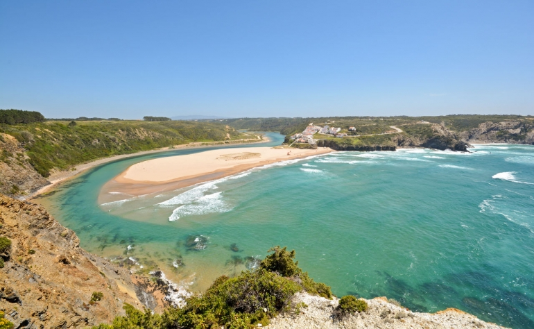 Odeceixe beach is perfect for surf