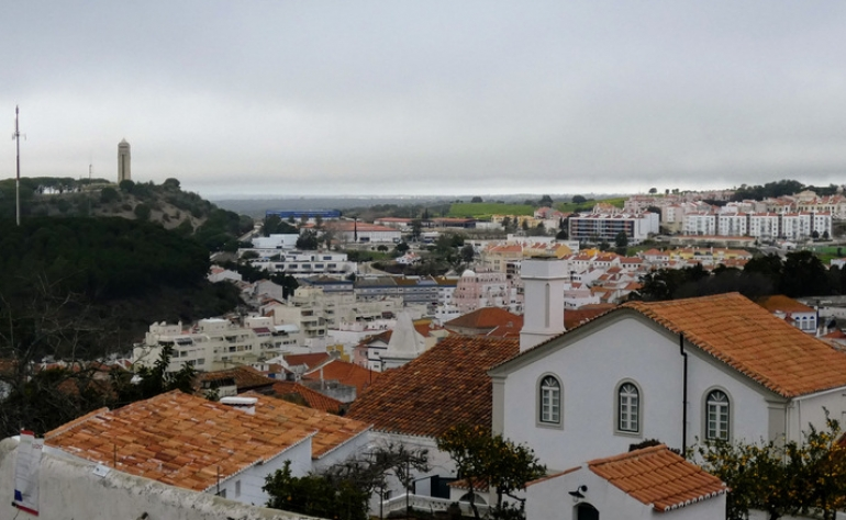 View of the city of Santiago do Cacém from the church