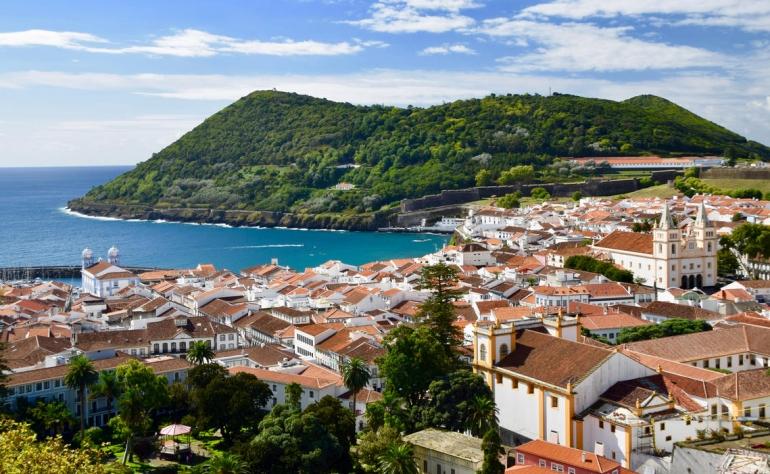 Angra do Heroísmo is the capital of Terceira Island